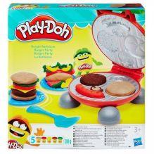 PLAY-DOH - Play-Doh Игровой набор Бургер гриль (B5521) обложка книги