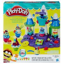PLAY-DOH - Play-Doh Игровой набор Замок мороженого (B5523EU4) обложка книги