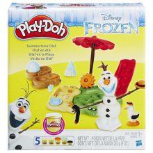 PLAY-DOH - Play-Doh Игровой набор Летние приключения Олафа (B3401EU4) обложка книги