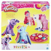 PLAY-DOH - Play-Doh Игровой набор Создай любимую Пони (B0009EU6) обложка книги