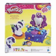 PLAY-DOH - Play-Doh Игровой набор Туалетный столик Рарити (B3400EU4) обложка книги