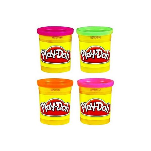 Play-Doh Пластилин: Набор из 4 баночек пластилина (в ассорт.) (22114ET0)