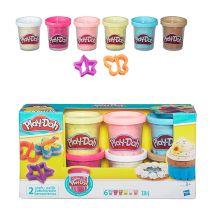 PLAY-DOH - Play-Doh Пластилин: Набор из 6 баночек платилина с конфетти (B3423EU4) обложка книги