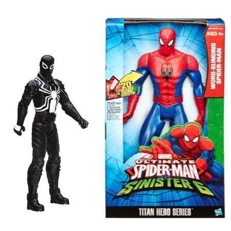 Spider Man Титаны: Электронные Фигурки Человека-Паука (B5757) SPIDER-MAN
