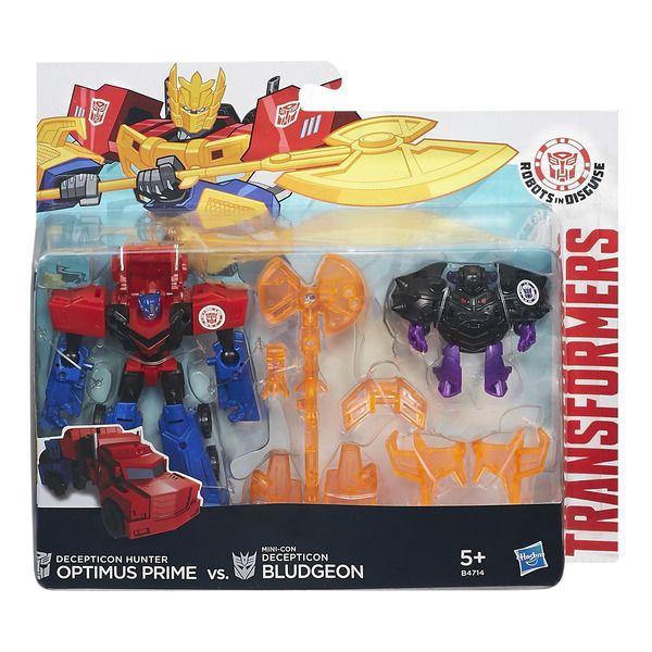 Transformers РОБОТЫ ПОД ПРИКРЫТИЕМ: Миниконы Бэтл-Пэкс (B4713) TRANSFORMERS