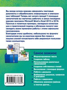 Обложка сзади Простой и понятный самоучитель Word и Excel. 2-е издание Василий Леонов
