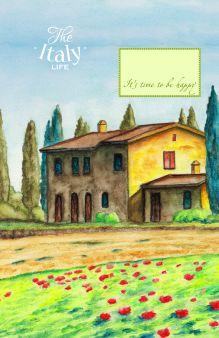 Блокнот. Домик в Италии (А5)