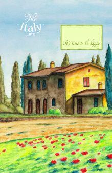 - Блокнот. Домик в Италии (А5) обложка книги