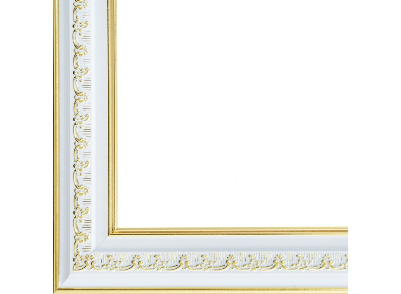 Багетные рамы 30*40. Bella (серебрянный+золотой) (1056-BL)