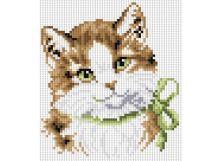 - Мозаика на подрамнике. Кошка Алиса (015-ST-S) обложка книги