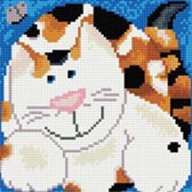 Мозаика на подрамнике. Кошка Лапочка (283-ST-S)