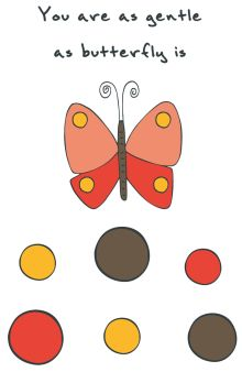 - Блокнот для записей You are as gentle as butterfly is (А5) обложка книги