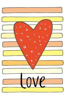 - Блокнот для записей Love (А5) обложка книги