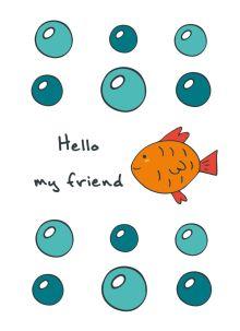"""Блокнот для записей """"Hello, my friend"""" (А6)"""