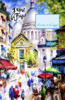 - Блокнот. Прогулка по Парижу (А5) обложка книги