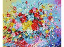 001-АВ Фейерверк из роз
