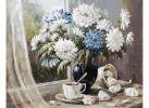 147-АВ Хризантемы-цветы запоздалые