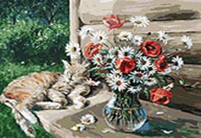 149-АВ Дачная жизнь кота Василия