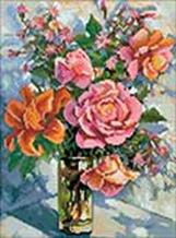 050-ST-S Натюрморт с розами