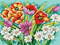 271-ST-S Прекрасные цветы