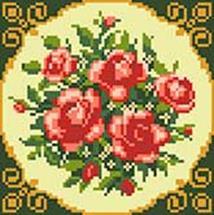 281-ST-S Чайные розы