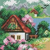 116-ST-PS Весенний домик