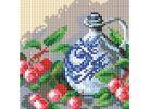 Мозаичные картины . Кувшин и вишня (043-ST-PS)