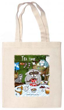 - Сумка. Tea time (35х39см, ручки 53см) обложка книги