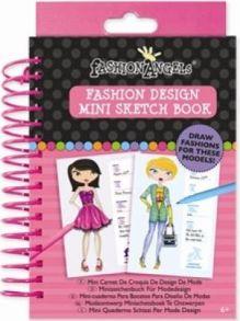 Fashion Angels - Портфолио-блокнот Мой стиль обложка книги