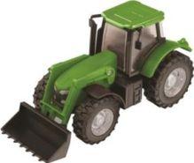 HTI (Roadsterz) - Фермерский трактор (землекопатель) 1/43 обложка книги