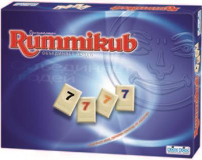 Rummikub оригинальная версия (настольная игра)