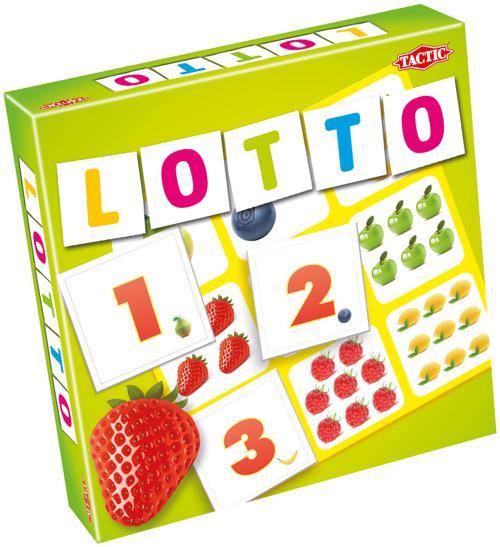 """Лото """"Цифры и фрукты 2"""" (настольная игра) Tactic Games"""