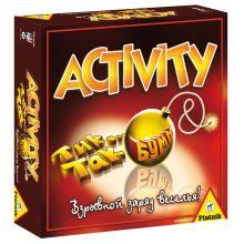 Piatnik - ACTIVITY + Tик Так Бумм обложка книги
