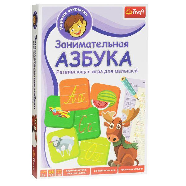 Занимательная Азбука (настольная игра) Trefl