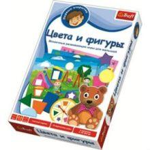 Trefl - Цвета и фигуры обложка книги