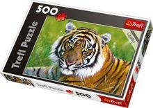 Trefl - Пазл 500 дет. -Тигр обложка книги