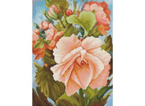 Наборы для вышивания 14ст,16ст. Роза (6019-14)