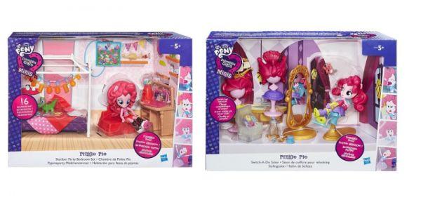 "My Little Pony EQUESTRIA GIRLS Игровой набор мини-кукол ""Пижамная вечеринка"" (B8824) MLP EQUESTRIA GIRLS"