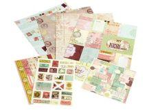 - Наборы для скрапбукинга. Набор для творчества Розовое суфле (041-SB) обложка книги