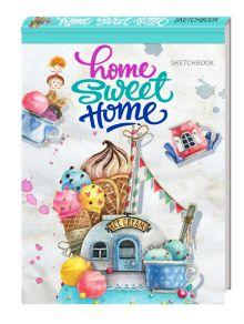 - Блокнот. Home sweet home! Ice cream (А5 альбомный формат) обложка книги