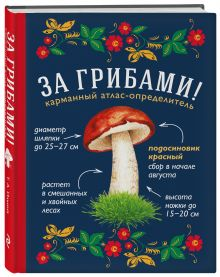 Ильина Т.А. - За грибами. Карманный атлас-определитель обложка книги