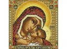 Мозаика на подрамнике. Икона Божией матери  Корсунская (068-ST-S)