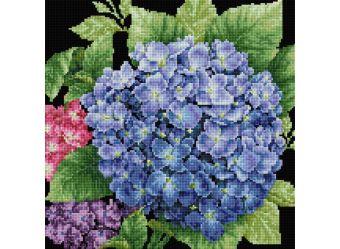 Мозаика на подрамнике. Садовая гортензия (143-ST-S)