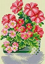 Мозаика на подрамнике. Милые цветы (290-ST-S)
