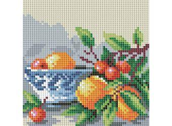 Мозаичные картины. Абрикосы и вишня (044-ST-PS)