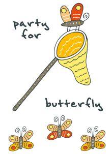 - Блокнот для записей Party for butterfly (A6) обложка книги