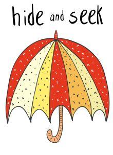 - Блокнот для записей  Hide and Seek (А6) обложка книги