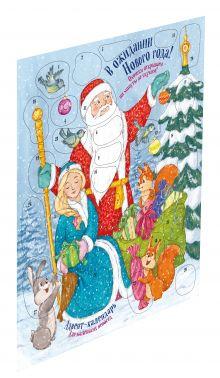 Салль О.М. - В ожидании новогоднего чуда! Адвент-календарь для детей. А2 обложка книги