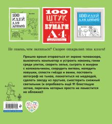 Обложка сзади 100 идей для детей во дворе