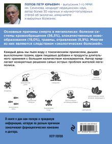 Обложка сзади Как сохранить здоровье в большом городе Попов П.Ю.